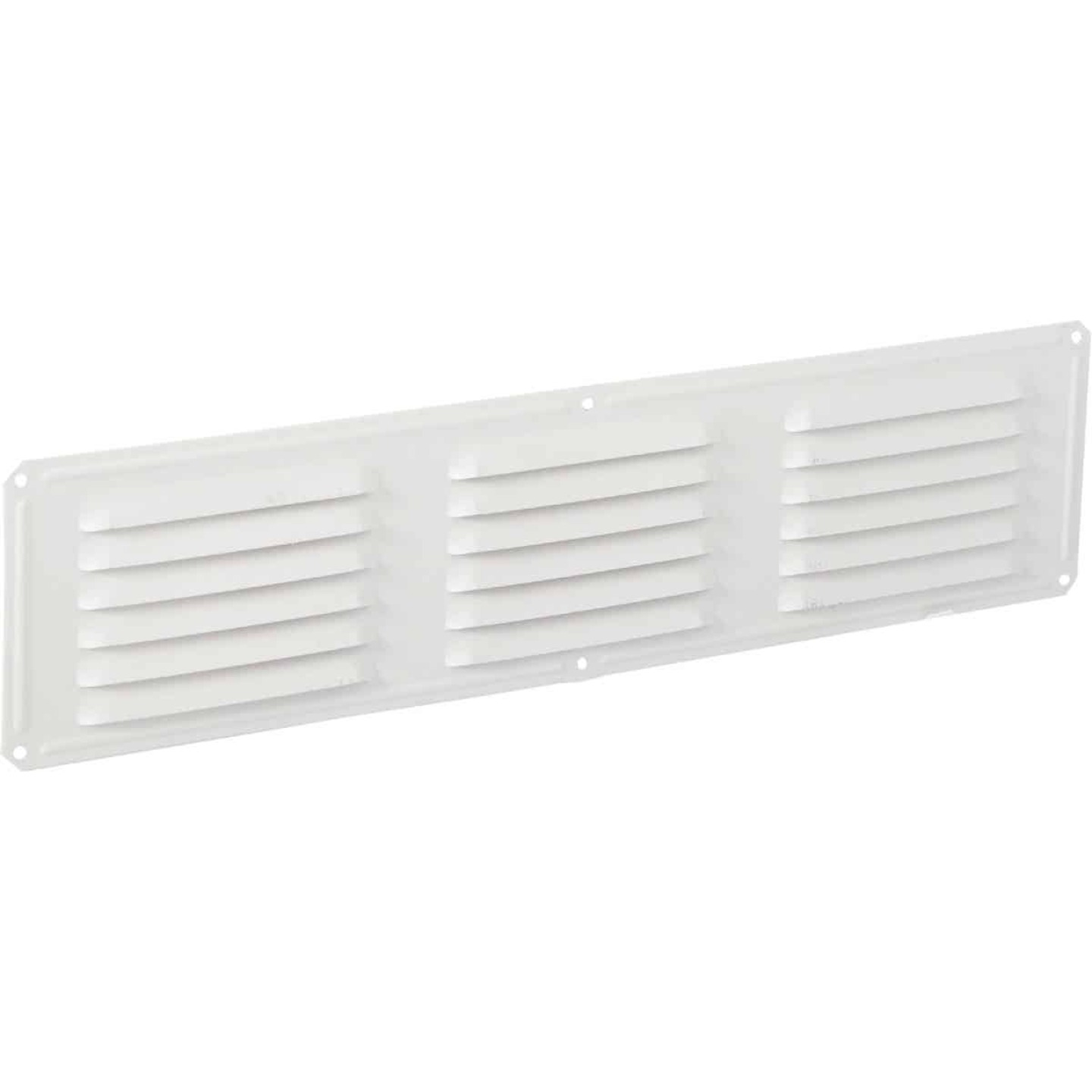 Air Vent 16 In. x 4 In. White Aluminum Under Eave Vent Image 1