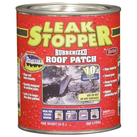 Black Jack Leak Stopper 1 Qt. Rubberized Roof Patch