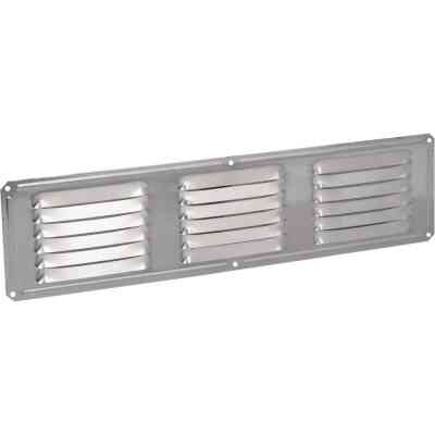Air Vent 16 In. x 4 In. Mill Aluminum Under Eave Vent