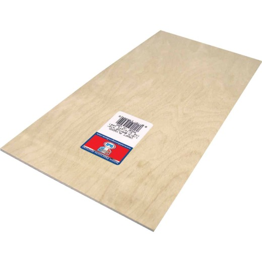 Midwest Products 1/8 In. x 6 In. x 12 In. Birch Plywood