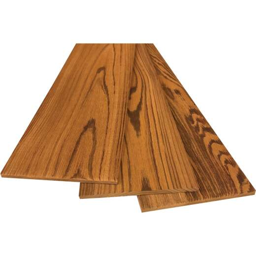 Smart Paneling 4-15/16 In. W x 23.75 In. L x 1/4 In. Thick Hardwood Grain Wood Wall Plank (12-Pack)