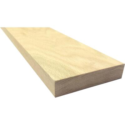 Waddell 1 In. x 4 In. x 3 Ft. Red Oak Board