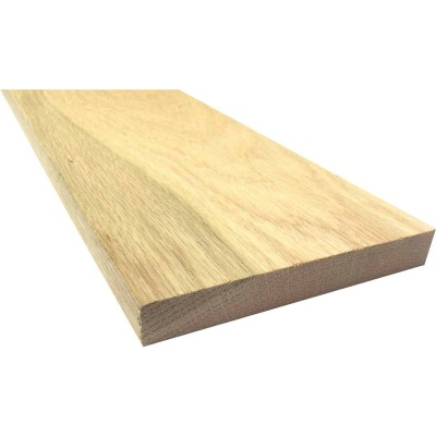 Waddell 1 In. x 6 In. x 4 Ft. Red Oak Board