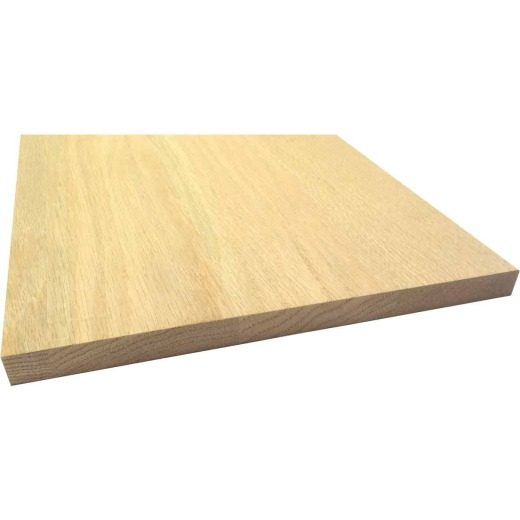Waddell 1 In. x 12 In. x 6 Ft. Red Oak Board