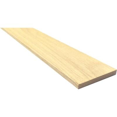 Waddell 1/4 In. x 4 In. x 4 Ft. Red Oak Board