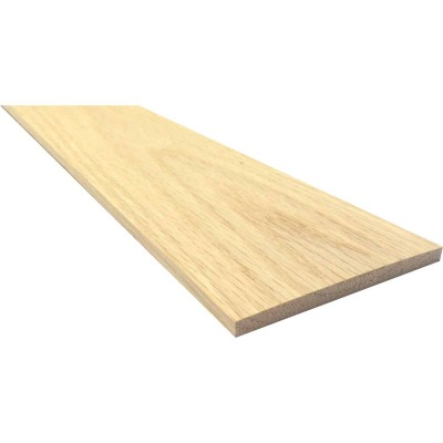 Waddell 1/4 In. x 6 In. x 4 Ft. Red Oak Board
