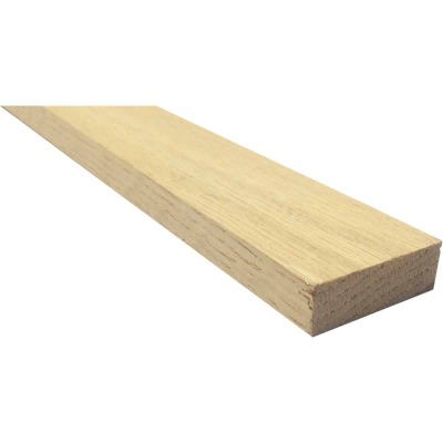 Waddell 1/2 In. x 2 In. x 4 Ft. Red Oak Board
