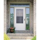 Larson Lifestyle MULTI-VENT 36 In. W x 80 In. H x 1 In. Thick White Mid View DuraTech Storm Door Image 2