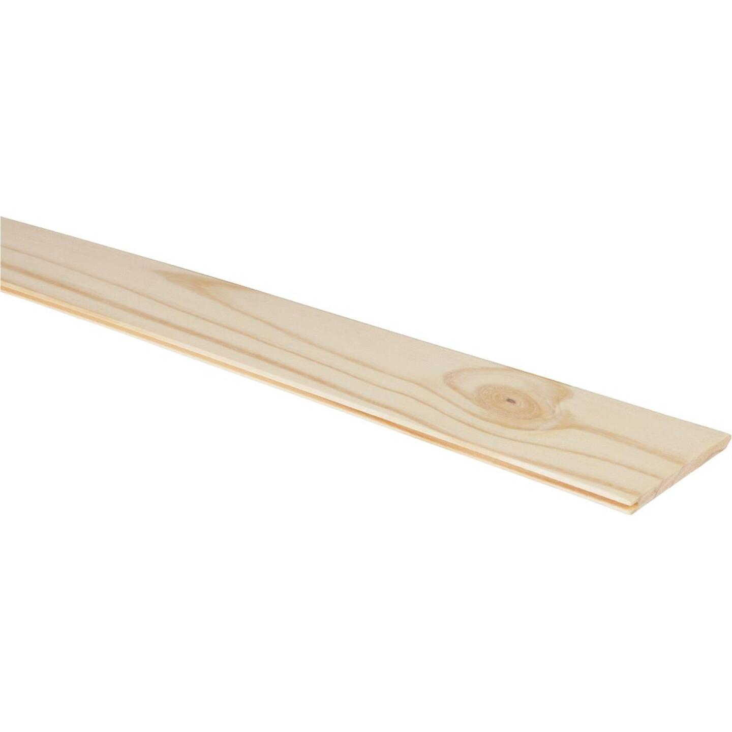 DPI 3-1/2 In. W. x 8 Ft. L. x 5/16 In. Thick Pine V-Edge Wall Plank (6-Pack) Image 1