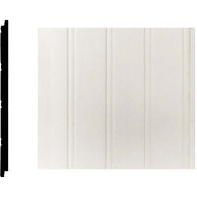 House of Fara 5/16 In. W. x 5-29/32 In. H. x 8 Ft. L. MDF Wainscot (3-Pack)