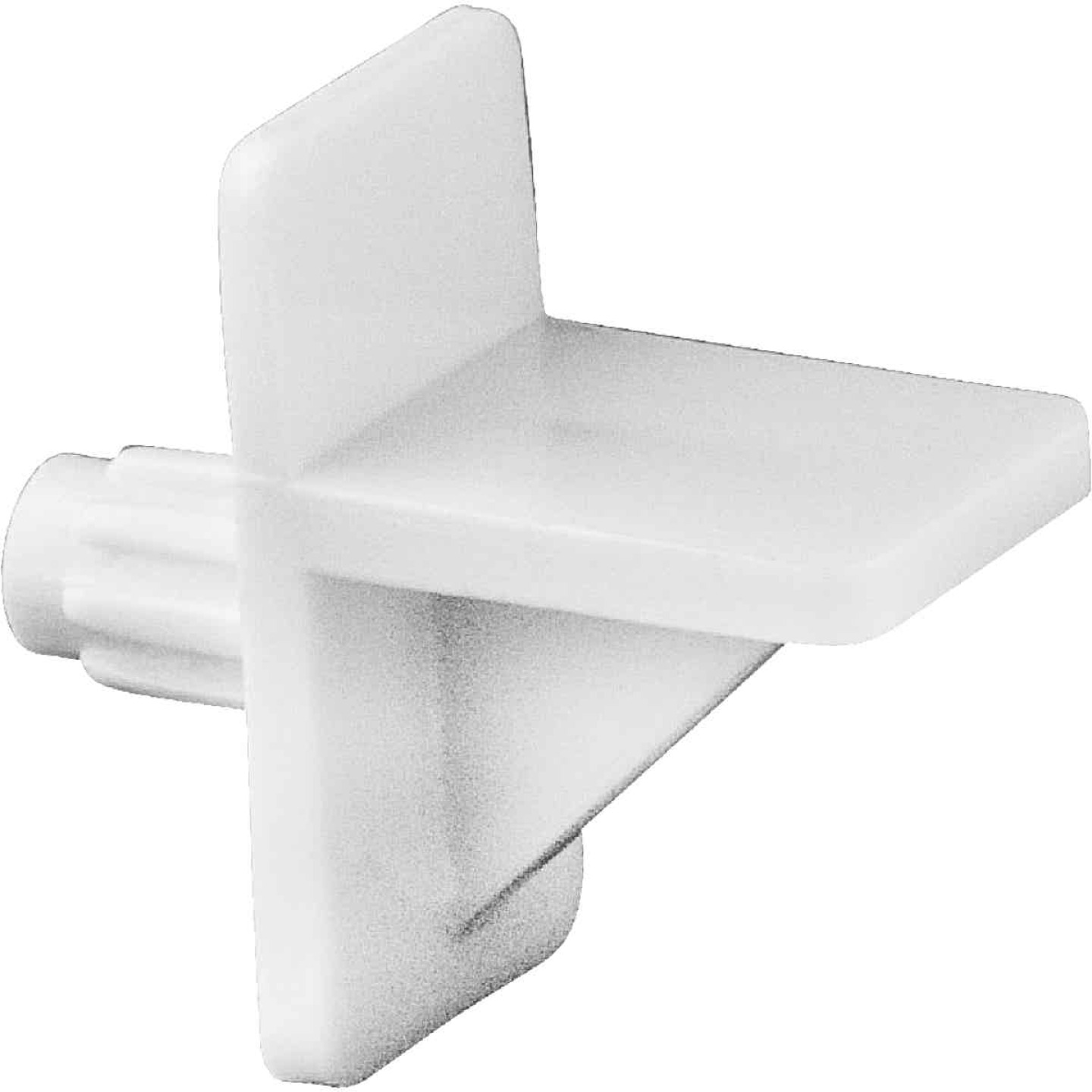 National 159 1/4 In. White Plastic Shelf Support (8-Count) Image 1