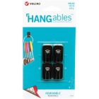 Velcro Brand Hangables 1/2 Lb. Capacity Black Removable Micro Hook (4 Count) Image 1