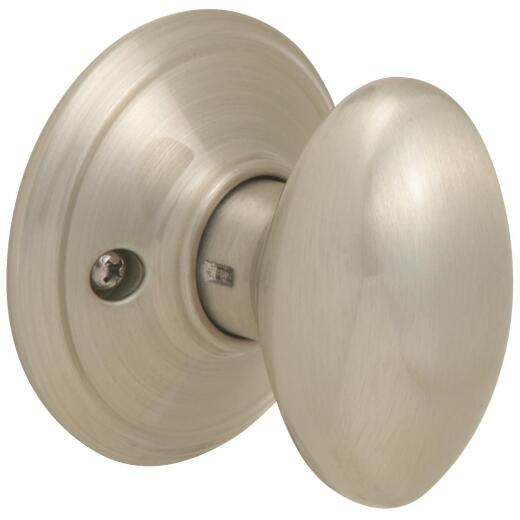 Schlage Satin Nickel Siena Dummy Door Knob
