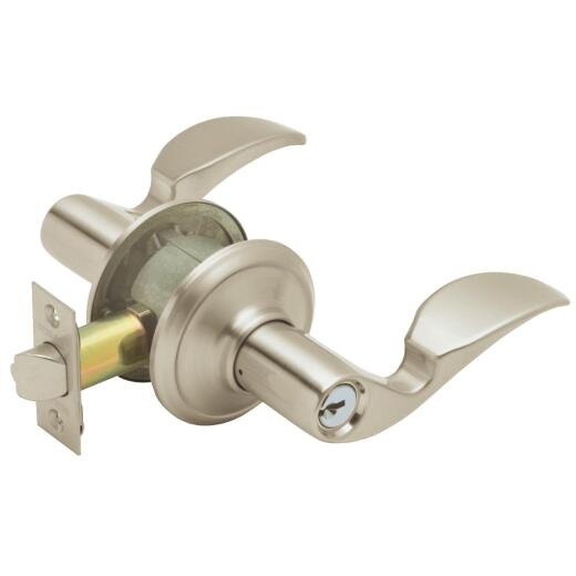 Schlage Satin Nickel Avanti Entry Door Lever