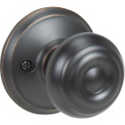 Schlage Aged Bronze Georgian Dummy Door Knob Image 1