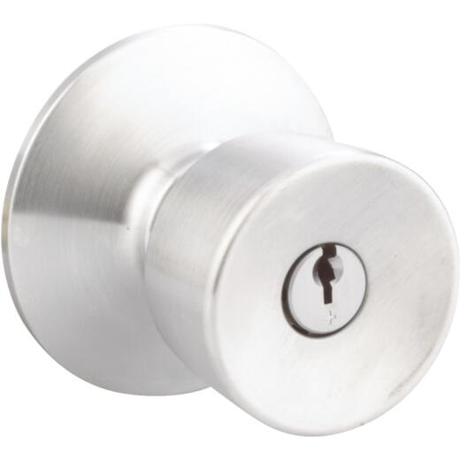 Schlage Bell Satin Chrome Entry Door Knob