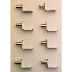 Prime-Line 1/4 In. Nickel Shelf Support (8-Count) Image 3