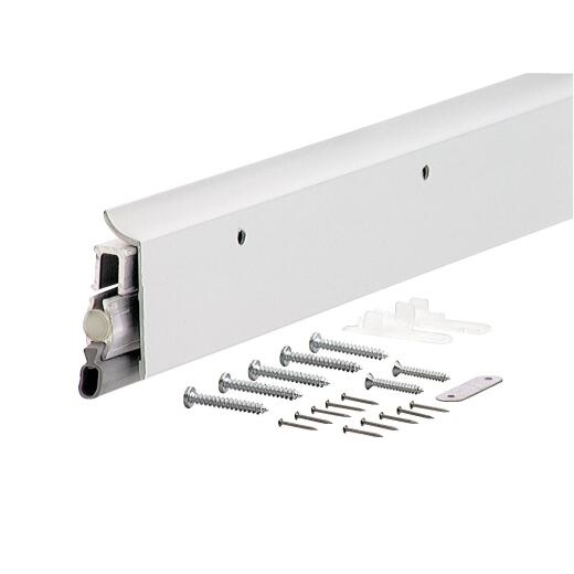 M-D 2-3/8 In. W. x 36 In. L. Silver Seal-O-Matic Automatic Door Sweep