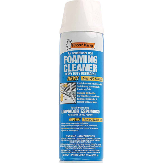 Frost King 19 Oz. Ready To Use Aerosol Spray Air Conditioner Coil Cleaner