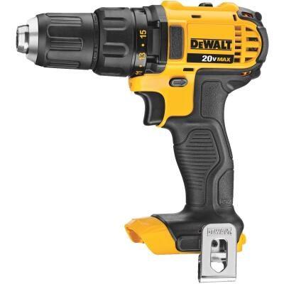 DeWalt 20 Volt MAX Lithium-Ion 1/2 In. Compact Cordless Drill (Bare Tool)