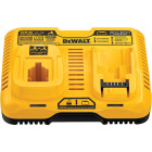 DeWalt 7.2 Volt to 20 Volt MAX Nickel-Cadmium/Nickel-Metal Hydride/Lithium-Ion Dual Port Fast Battery Charger Image 3