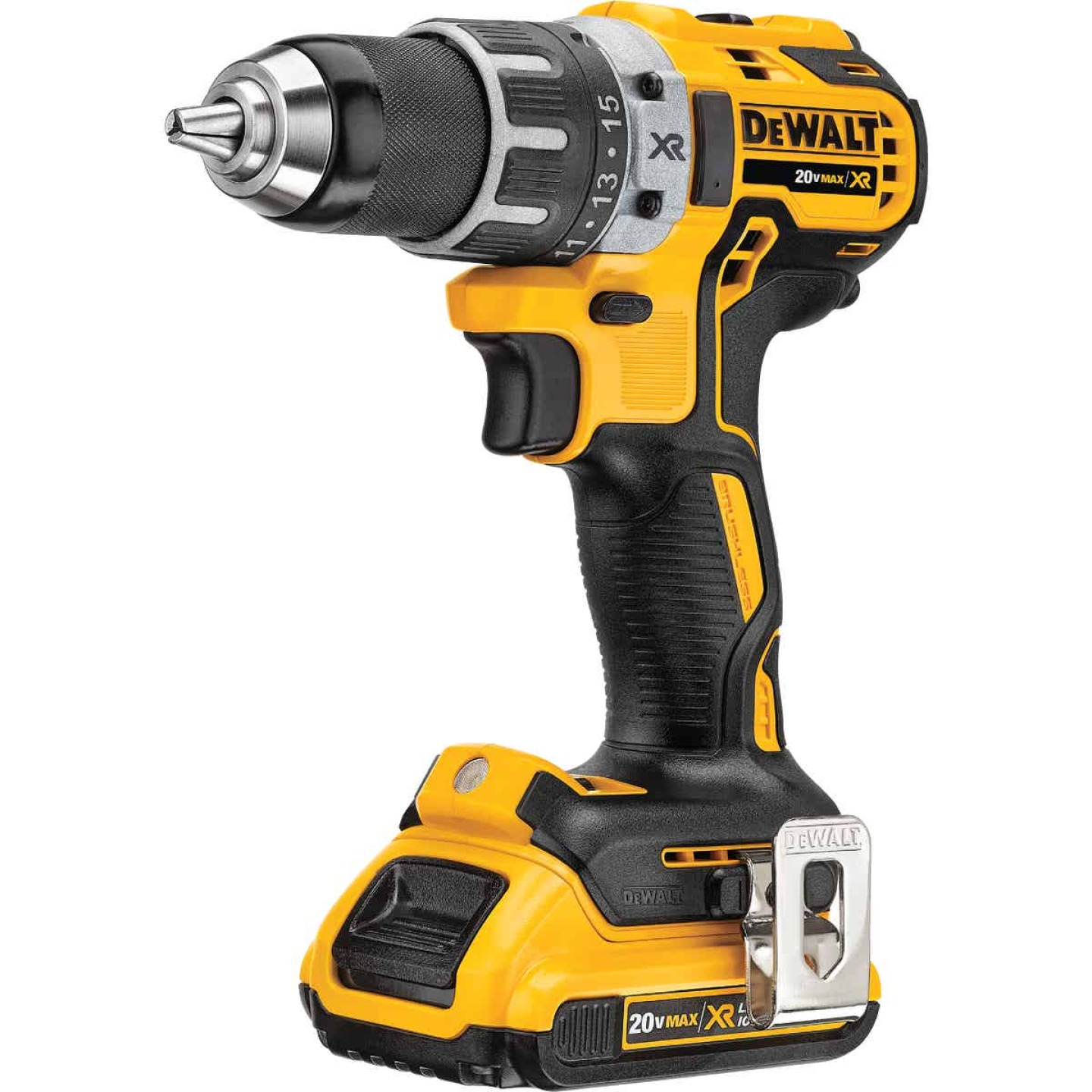 DeWalt 20 Volt MAX XR Lithium-Ion Brushless 1/2 In. Cordless Drill Kit Image 3