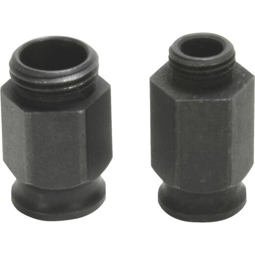 Diablo 1/2 In. and 5/8 In. Mandrel Adapter Nuts for 9/16 In. to 6 In. Hole Saws (2-Pack)