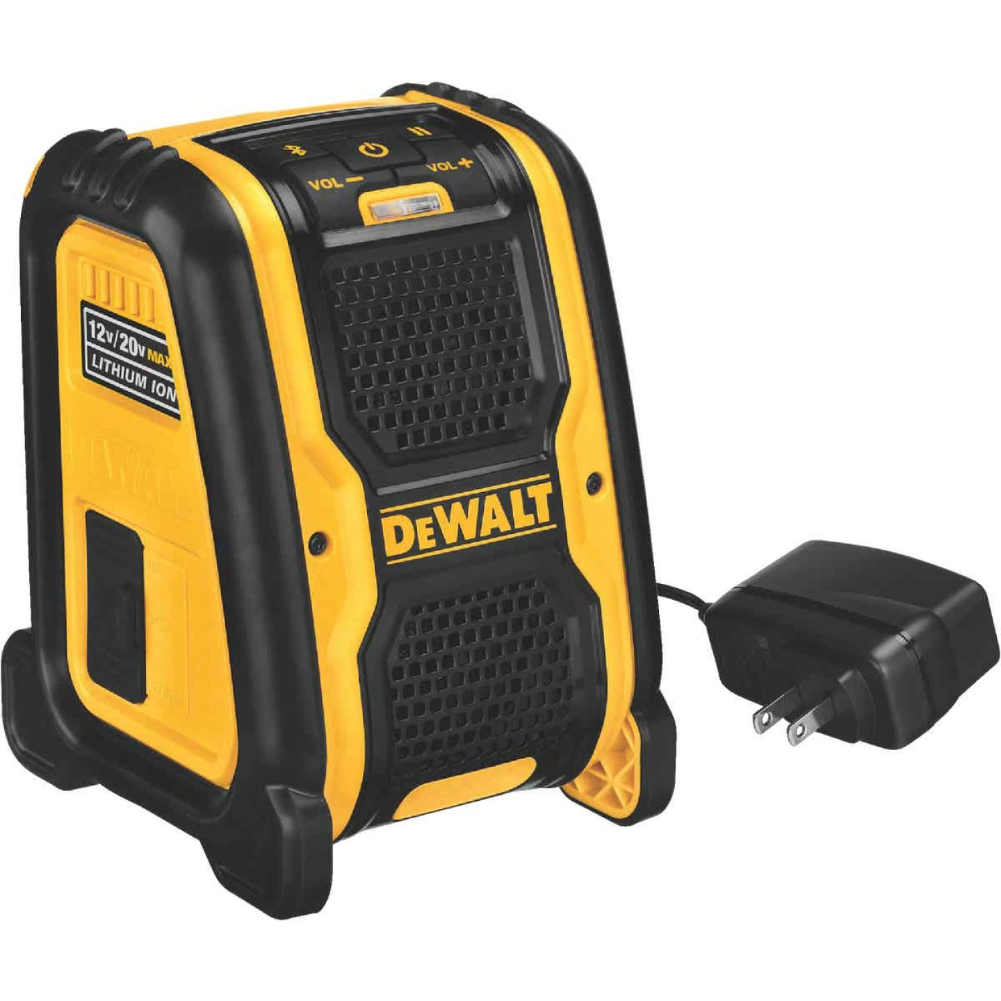 DeWalt 12 Volt/20 Volt MAX Lithium-Ion 100 Ft. Cordless Bluetooth Speaker (Bare Tool) Image 1