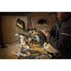 DeWalt 20 Volt MAX Lithium-Ion 7-1/4 In. Sliding Compound Cordless Miter Saw Kit Image 3