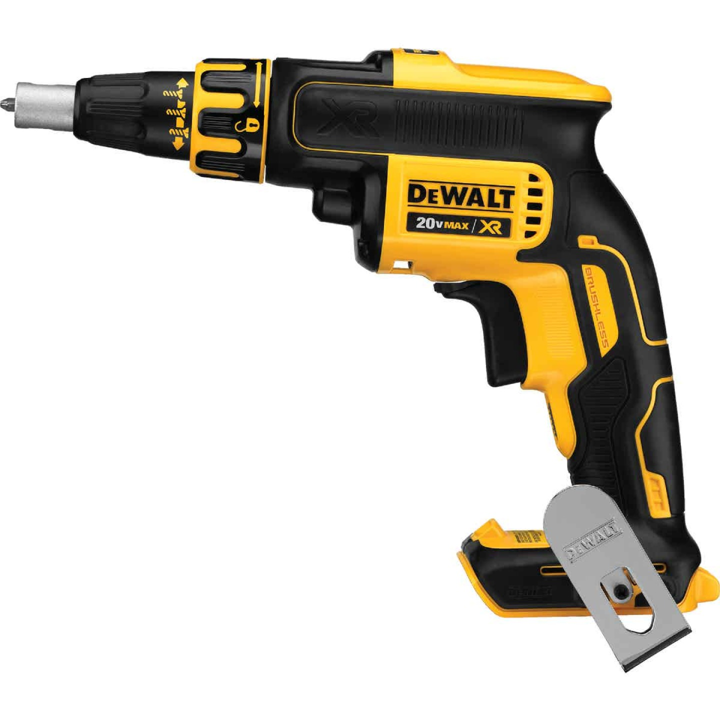 DeWalt 20 Volt MAX XR Lithium-Ion Brushless Drywall Cordless Screwgun (Bare Tool) Image 1
