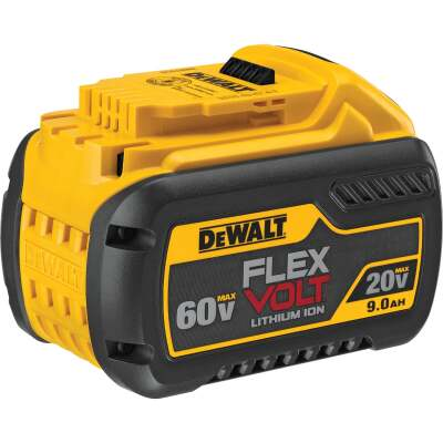 DeWalt Flexvolt 20 Volt and 60 Volt MAX Lithium-Ion 9.0 Ah Tool Battery