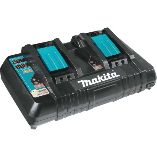 Makita 18 Volt LXT Lithium-Ion Dual Port Rapid Optimum Battery Charger