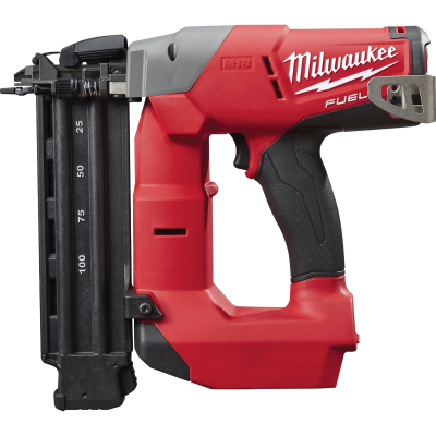 Milwaukee M18 FUEL 18 Volt Lithium-Ion Brushless 18-Gauge 2-1/8 In. Cordless Brad Nailer (Bare Tool)