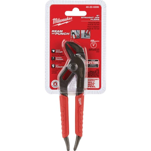 Milwaukee 6 In. Straight Jaw Groove Joint Pliers