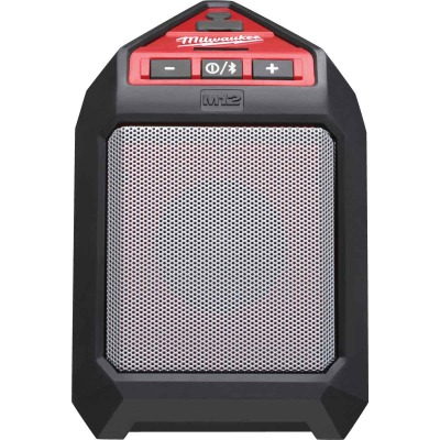 Milwaukee M12 12 Volt Lithium-Ion 30 Ft. Cordless Bluetooth Speaker (Bare Tool)