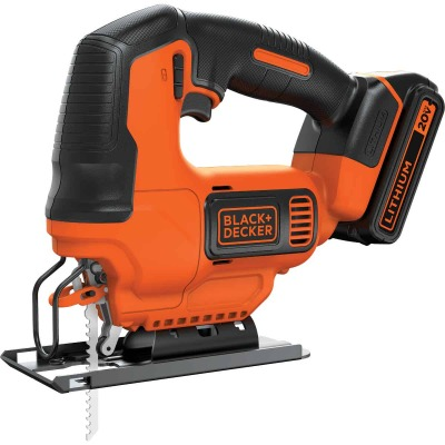 Black & Decker 20 Volt MAX Lithium-Ion 1.5 Ah Cordless Jig Saw Kit