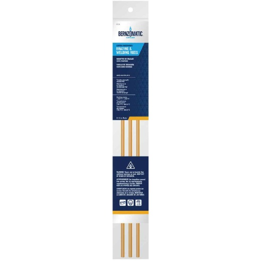 Bernzomatic Copper/Phosporous Welding and Brazing Rod (3-Pack)