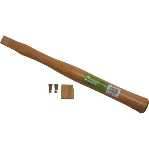 Vaughan 17-1/2 In. L x 1-1/2 In. Dia. American Hickory Hatchet Replacement Handle