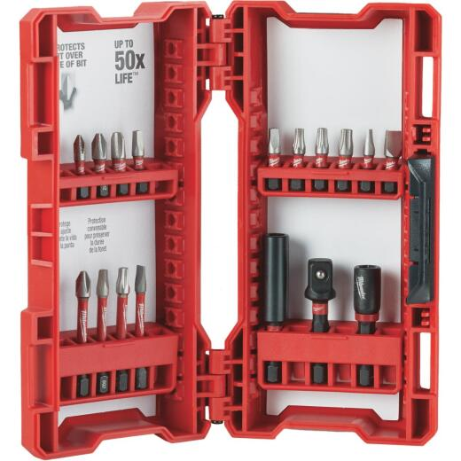 Milwaukee Shockwave 17-Piece Impact Duty Drill and Drive Set