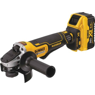 DeWalt 20V MAX XR Lithium-Ion 4-1/2 In. Brushless Paddle Switch Cordless Angle Grinder Kit w/Kickback Brake