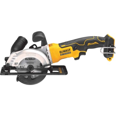 DeWalt Atomic 20-Volt MAX Lithium-Ion Brushless 4-1/2 In. Cordless Circular Saw (Bare Tool)
