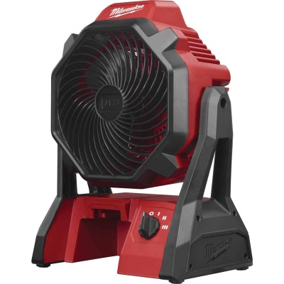 Milwaukee M18 18 Volt Lithium-Ion Cordless Jobsite Fan (Bare Tool)