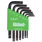 Eklind Short Arm Torx Hex Key Set, 7-Piece Image 1