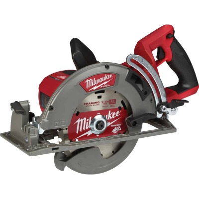 Milwaukee M18 FUEL 18 Volt Lithium-Ion Brushless 7-1/4 In. Cordless Circular Saw w/Rear Handle (Bare Tool)