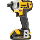 DeWalt 20 Volt MAX Lithium-Ion 1/4 In. Hex Cordless Impact Driver Kit (2-Battery) Image 5