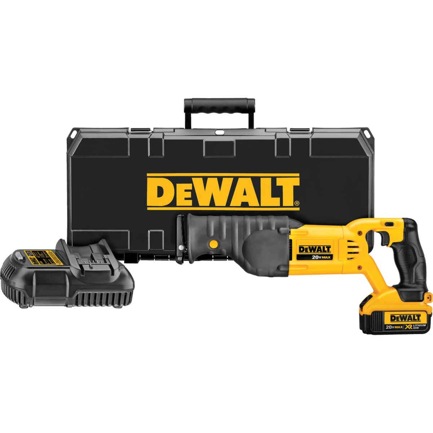 DeWalt 20 Volt MAX Lithium-Ion Cordless Reciprocating Saw Kit Image 1