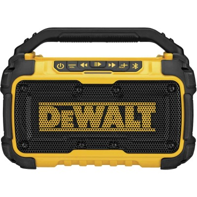 DeWalt 12 Volt/20 Volt MAX Lithium-Ion Jobsite Corded/Cordless Bluetooth Speaker (Bare Tool)