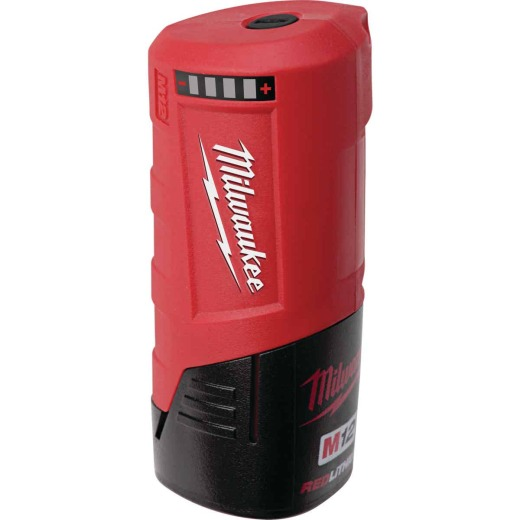 Milwaukee M12 12 Volt Lithium-Ion USB Power Source