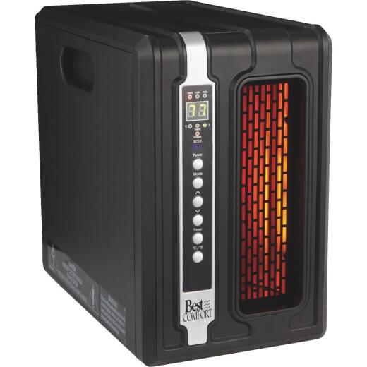 Best Comfort 1500-Watt 120-Volt Quartz Heater with Remote