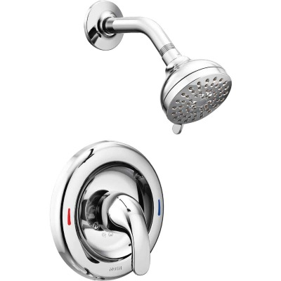 Moen Chrome 1-Handle Lever Shower Faucet